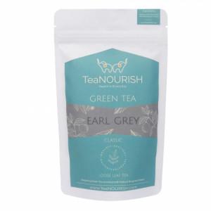 TeaNOURISH Earl Grey Darjeeling Green Tea, 50gm