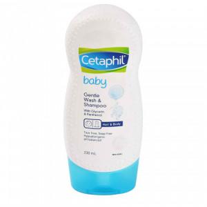 Cetaphil Baby Gentle Wash & Shampoo, 230ml