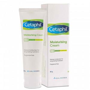 Cetaphil Moisturizing Cream, 80gm