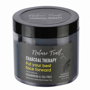 Nature Trail Charcoal Therapy Face Mask, 100gm