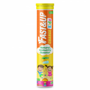 Fast&Up Charge Kidz Effervescent (Magic Mango), 25 Tablets