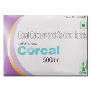 Corcal 500mg, 10 Tablets