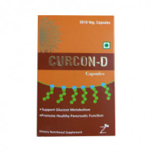 Curcon - D, 10 Capsules