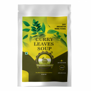 Myglyindex Curry Leaves Soup, 10gm (Pack Of 10)