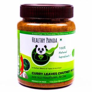 Healthy Panda Curry Leaves Chutney Powder, 250gm