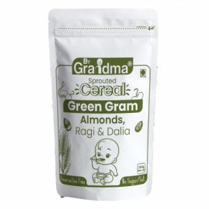 ByGrandma Green Gram, Almonds With Ragi & Dalia Kids Porridge Mix, 280gm