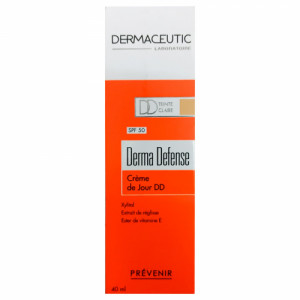 Dermaceutic Derma Light Tinted Daily Defense Cream with SPF 50, 40ml