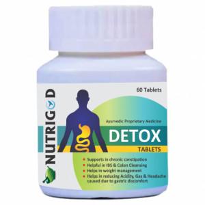Nutrigod Detox, 60 Tablets