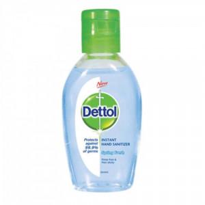 Dettol Instant Hand Sanitizer - Spring Fresh, 50ml