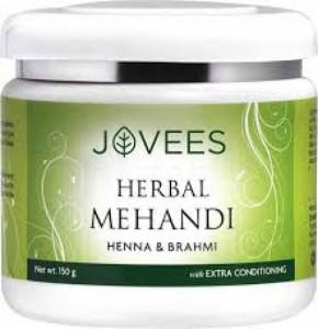 Jovees Henna & Brahmi Herbal Mehandi, 150gm