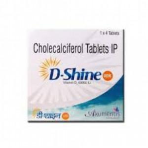 D-Shine 60K, 4 Tablets