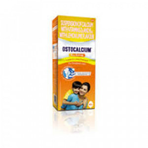 Ostocalcium Syrup Lemon, 200ml