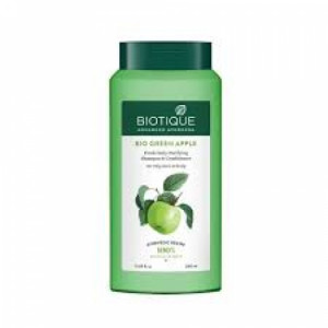 Biotique Bio Green Apple Shampoo and Conditioner, 340ml