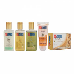 Dr Batra's Complete Bath Care Kit (Pack of 5)