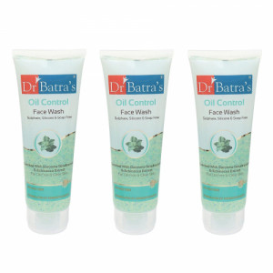Dr Batra's Face Wash Oil Control, 100gm (Pack of 3)