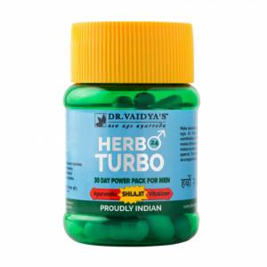 Dr. Vaidya's Herbo 24 Turbo, 30 Capsules