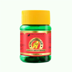 Dr. Vaidya's Imunoherb Immunity Booster, 30 Capsules ( Pack Of 3)