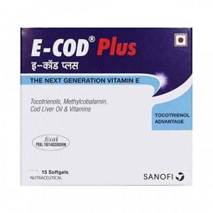 E-Cod Plus, 15 Capsules