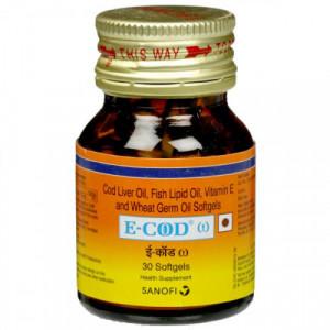 E-cod Omega, 30 Capsules