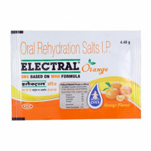 Electral Powder Orange, 21.8gm
