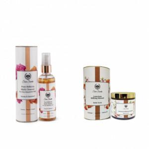 Seer Secrets Pore-Refining Multi Cleanser + Luxurious Milking Almond Butter Scrub Combo Pack