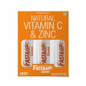 Fast&Up Charge Effervescent (Orange), 60 Tablets