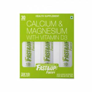 Fast&Up Fortify Effervescent (Lime & Lemon), 30 Tablets