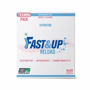 Fast&Up Reload Effervescent (Berry), 80 Tablets