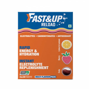 Fast&Up Reload Effervescent (Multiflavour), 60 Tablets