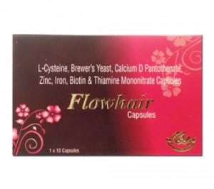 Flow Hair, 10 Tablets