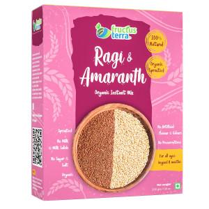 Fructus Terra Ragi & Amaranth Organic Instant Mix, 200gm