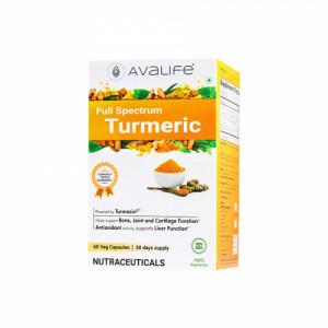 Avalife Full Spectrum Turmeric, 60 Capsules