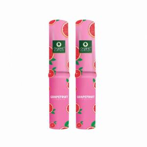 Organic Harvest Grape Fruit Lip Balm, 3gm (Pack Of 2)