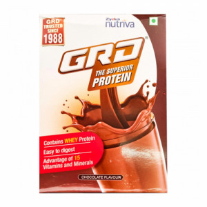 GRD Chocolate Flavour Refill Pack, 400gm