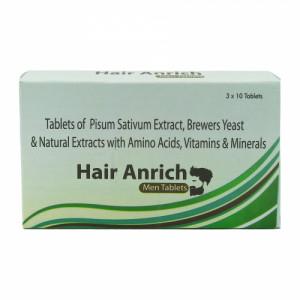 Hair Anrich Men, 30 Capsules