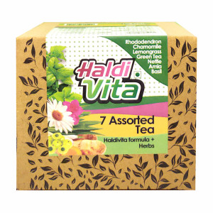 Haldivita Assorted Tea, 25 Bags