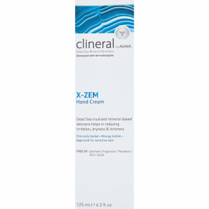 Clineral X-Zem Hand Cream, 125ml