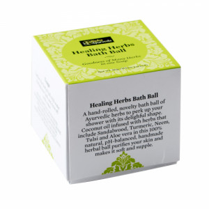Bipha Ayurveda Healing Herbs bath ball, 80gm