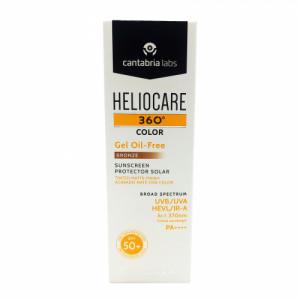 Heliocare 360 Color Gel Oil-Free SPF 50+ (Bronze), 50ml