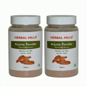 Herbal Hills Arjuna Powder, 100gm (Pack Of 2)