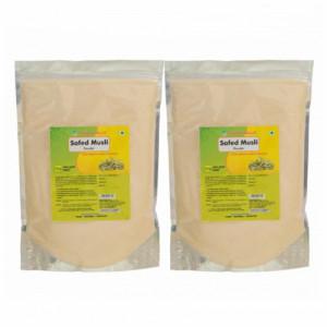 Herbal Hills Safed Musli Powder, 1Kg (Pack Of 2)