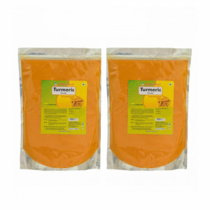 Herbal Hills Turmeric Powder, 1Kg (Pack Of 2)