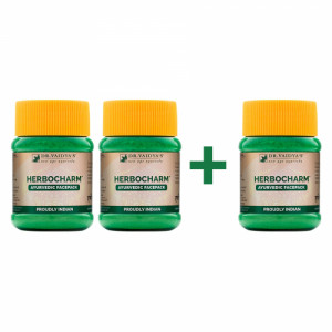 Dr. Vaidya's Herbocharm Powder - Buy Two Get One