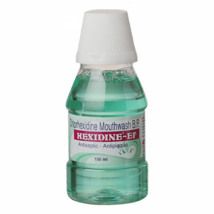 Hexidine Ep Mouth Wash, 150ml