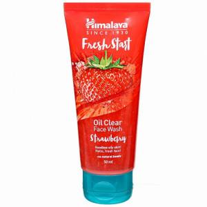 Himalaya Fresh Start Oil Clear Strawberry Face Wash, 50ml