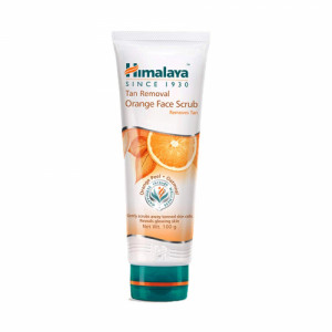 Himalaya Tan Removal Orange Face Scrub, 100gm