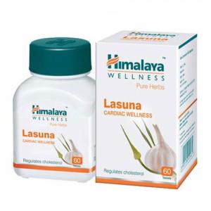 Himalaya Wellness Lasuna, 60 Tablets