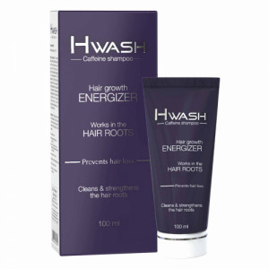 H Wash Caffenine Shampoo, 100ml