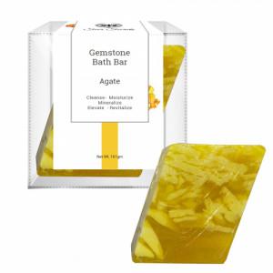 Seer Secrets Agate Gemstone Bath Bar, 160gm