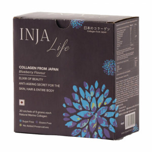 INJA Life Collagen Blueberry, 30 Sachets